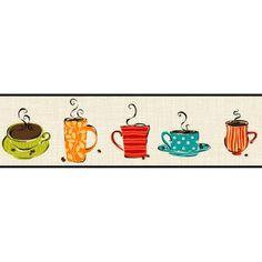 Coffee border....cute pattern
