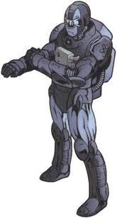 Tony Stark infiltrated the Thunderbolts as Cobalt Man to learn their intentions and agenda. Eventually, Stark revealed his true identity and tossed the Cobalt Man armor away.