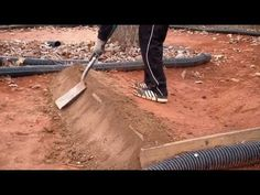 The Making of a Real Backyard RC Track :: Part 2 of 2 - YouTube