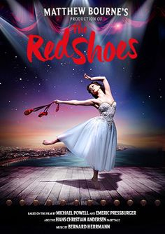 Matthew Bourne's The Red Shoes, 26 November 2016 Theatre Royal, Plymouth. Going on UK tour...