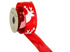 Silk Plants Direct Reindeer Ribbon (Pack of 6) *** You can find out more details at the link of the image.