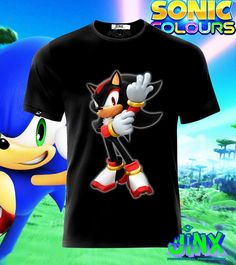 $179.00 Playera o Camiseta Sonic Collection Personajes - Jinx