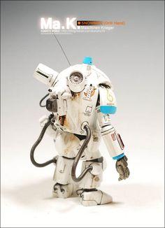 Snowman(Drill hand)  Maschinen Krieger (Ma.K)