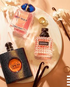 These classic, floral, warm, and spicy fragrances give you something for every mood, and they all have vanilla notes 🍦 Which scent are you living in lately? Giorgio Armani, Flask, Sephora, Vanilla, Fragrance, Perfume, Valentino