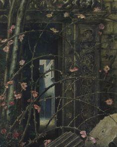 Edward Burne-Jones - Love Among the Ruins
