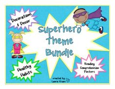 Superhero Theme Bundle