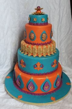 Indian Elephant Birthday Cakes - for kids and adult birthdays ...