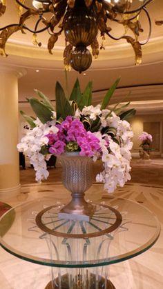 Lobby arrangement. Hidden gardens at its best!!