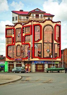 Alfredo Zeballos: New Andean Architecture.  Dark Silence In Suburbia