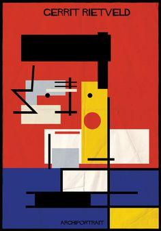 Galeria - A mais recente série de ilustrações de Federico Babina: ARCHIPORTRAIT - 281