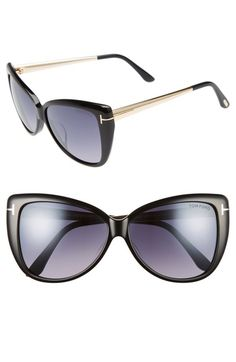 Tom Ford Reveka 59mm Gradient Cat Eye Sunglasess available at #Nordstrom