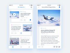 News App Concept by Daria Khimych