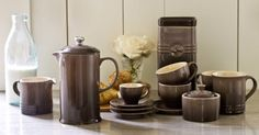 Just this morning Le Creuset announced its first evercoffee collection, which features a full assortment of premium products for serving and enjoying French press coffee, cappuccino and espresso. The collection is inspired by the charismatic cafes of France and draws on the company's long history of blending style and functionality.