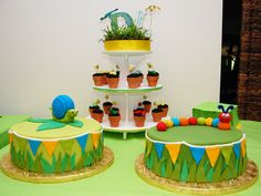 Great cake ideas for bug party!
