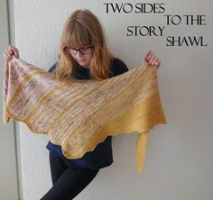 After a little bit of work and effort, the pattern of my 'Two sides to the story shawl' is now also available in PDF -format. The colorchanges are put in a chart to make it easier to follow. I also...