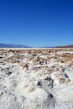 Badwater Basin, Death Valley CA