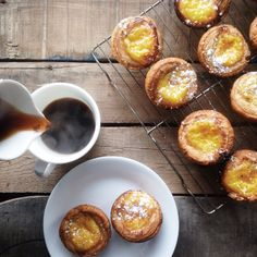Portugese Tarts & Coffee