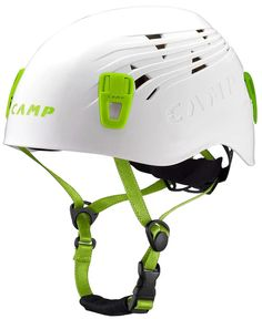 USA Titan climbing helmet protects your dome with an injection-molded shell, and vents heat when you're sweating through the crux. Camping Needs, Go Camping, Camping Hacks, Camping Trailers, Titan Helmet, California Beach Camping, Titans, Bicycle Helmet, Climbing