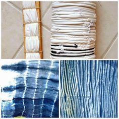 Poppytalk: Proyecto Fin de semana | 9 Shibori Tutoriales temáticas
