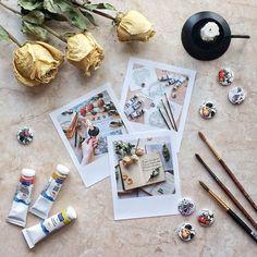Идея фото для инстаграм. Раскладка, цветы, flatlay, вдохновение, настроение #фото #flatlay #вдохновение
