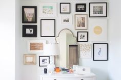 maybe take the print wall floor to ceiling, and include a large mirror?? this could work well even behind your table
