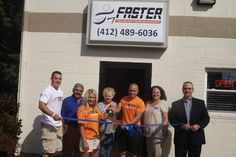 FASTER Ribbon Cutting - August 2013