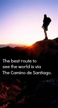 The best route to see the world is via The Camino de Santiago http://goo.gl/zOITDO