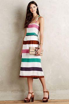 Sketchbook Midi Dress