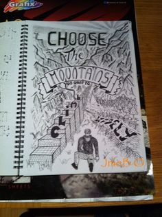 Choose the Mountains you want to climb wisely. Enjoyed doing this one ! #urbanart #sketch #art #illustration #drawing #design #artist #uk #politics #positivity #peace