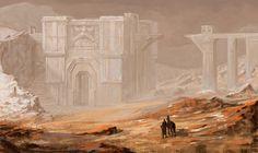 Ruins of Belegost by ~DavidGau