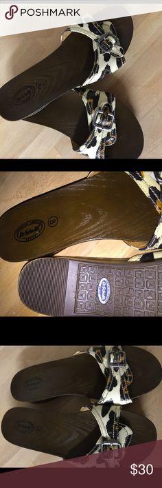 DR SCHOLLS - Ladies Leopard Patent Size 8 DR SCHOLLS - Ladies Advanced Comfort Slide Sandals, Leopard Patent Size 8 Dr scholls Shoes Sandals