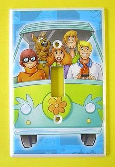 Scooby Doo Single Switch Plate switchplate #4 . $9.49