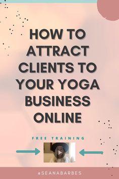 Yoga Flow, Yoga Meditation, Marketing Ideas, Email Marketing, Business Tips, Online Business, Online Yoga Classes, Teacher Inspiration, Pilates Studio