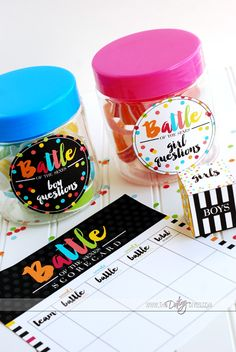 Battle of the sexes group date night w/ free printables!