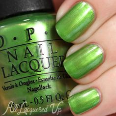 OPI My Gecko Does Tricks swatch - Spring 2015 Hawaii via @alllacqueredup