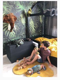 Boys Jungle Bedroom, Jungle Room, Boys Bedroom Decor, Safari Room, Nursery Room, Girl Room, Playhouse Bed, Princess Room Decor, Dorm Bedding Sets
