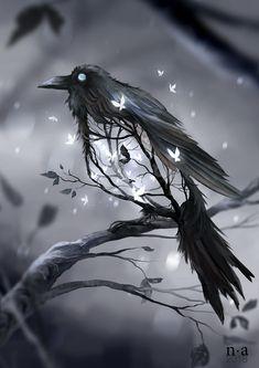 Art by Nicole Altenhoff (Mohn-blume in Deviantart) Hauntingly Beautiful! Art by Nicole Altenhoff (Mohn-blume in Deviantart) Dark Fantasy Art, Fantasy Artwork, Fantasy Kunst, Final Fantasy, Anime Fantasy, Dark Gothic Art, Dark Artwork, Fantasy Paintings, Fantasy Landscape