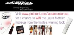 Visit http://pinterest.com/lauramercierusa/ for a chance to win the makeup from the finale's winning look!