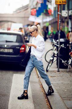 Boyfriend Jeans Nasıl Kombinlenir?