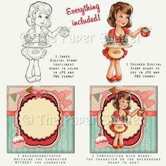 Sweet Things - Digital Stamp