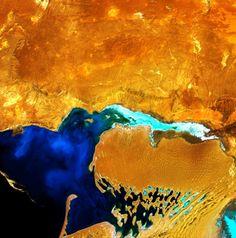 Earth as Art 3: le foto più artistiche della Terra scattate dai satelliti Landsat - Focus.it