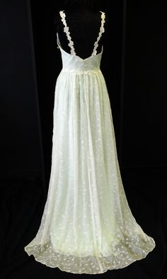 Mint Lace Silk Boho Wedding Dress With Venice by BellaVittoria, $1315.00