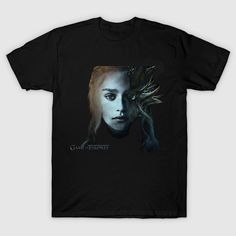 Wolf Inspired Jon Snow Tshirt Game of Thrones Men Casual Ladies Gift Top T-Shirt