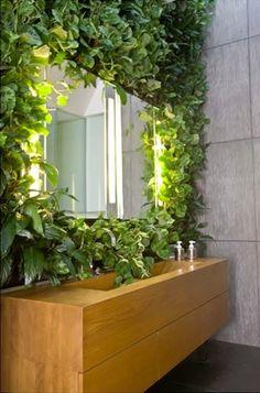 Rośliny w łazience - kokopelia design