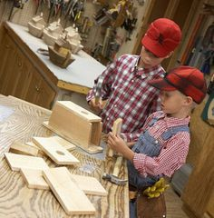 Wood Whittling - Whittling Projects for Kids is a fun hobby.