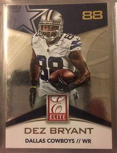 2015 Panini Donruss Elite Dez Bryant 5 Dallas Cowboys Near Mint Combined | eBay
