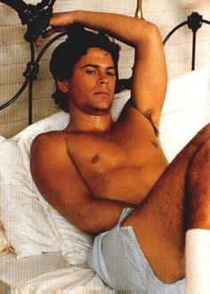 Rob Lowe about last night my fav film !!