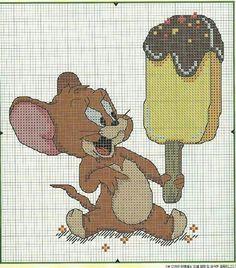 . Desenho Tom E Jerry, Tom Et Jerry, Stitch Character, C2c Crochet, Disney Cartoons, Le Point, Rapunzel, Line Art, Needlepoint