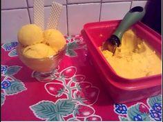 -Helado casero de mango con solo 4 ingredientes | fácil y sin maquina |