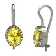 Yellow sapphire earrings! Yes, please!